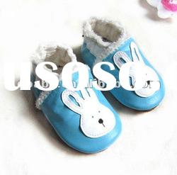 winter kids boots leather baby fury shoes