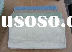 100% cotton jacquard white hand towel