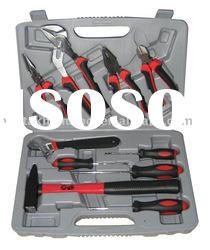 10pcs hand tool set in blow mold case