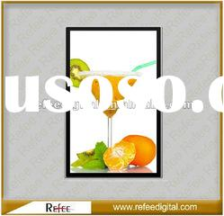 15 inch Vertical Network LCD Advertising Player Digital Signage