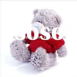15cm Red T-shirt stuffed teddy plush bear toys