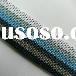 1.5 inch striped cotton webbing for bags