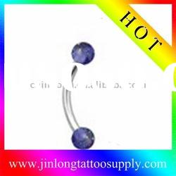 2011 Belly ring Body jewelry(eyebrow piercing jewelry)