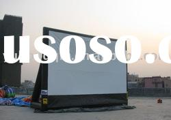 2011 inflatable movie screen / inflatable outdoor screen