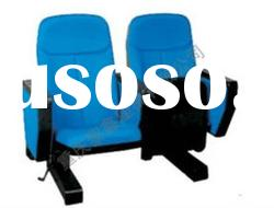 2011 movable theater chairs,auditorium seat, church chair, cinema chair, hall chair LX-215SH