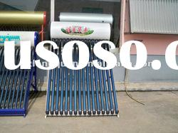 2012 SRCC approved pressure solar water heater with heat pipe ,high pressure solar hot water heater