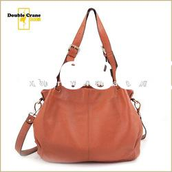 2012 Trendy Women's fashion big leather bag