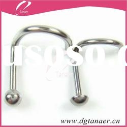 2012 fashion stainless steel womens nose jewelry