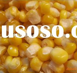 2012 frozen sweet corn,whole kernel sweet corn