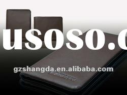 2012 high-end genuine leather wallet brown color