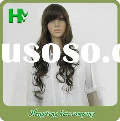 2012 high fashion daily Synthetic hair wigs soft