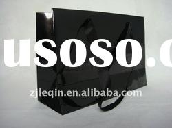 2012 high glossy new style recycled shopping paper bag with