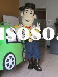 2012 high quality woody mascot costume,movie toy story cartoon costume,adult vivid character mascot