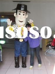 2012 hot promotiom woody mascot costume,movie toy story cartoon costume,adult vivid character mascot