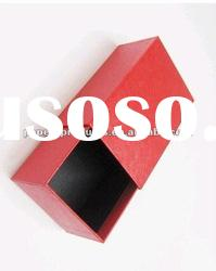 2012 hot sell modern custom chinese red paper box for shoes with drawer