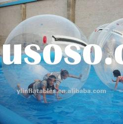 2012 inflatable clear water ball/aqua orb