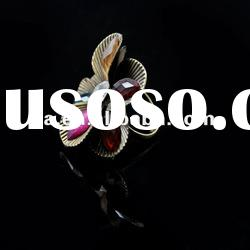 2012 new design mix-color crystal ring