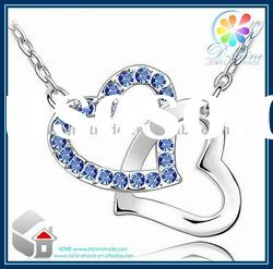 2012 new jewelry crystal necklace/crystal shamballa necklace