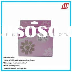 2012 paper packaging cosmetic box