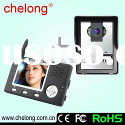 2.4GH Wireless Digital Video Door Phone System