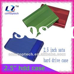 "2.5"" sata external hdd case/portable hard disk case/external hdd enclosure/hdd case"