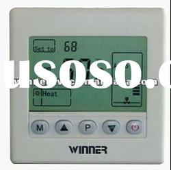 2 pipe digital room thermostat for air conditioning