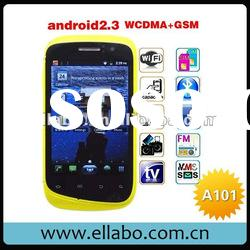 "3G Star A101 smart phone Dual Card Dual Camera GSM + WCDMA 3.5"" Capacitive Screen Android 2.3"