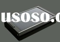 4000mA portable external solar battery charger power bank for Iphone4/Ipad2 etc
