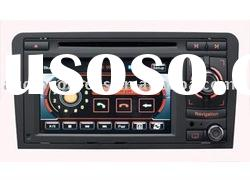 "6.5"" Digital screen touch screen car radio DVD for Audi A3 with GPS,BT,TV,TMC,RADIO,RDS"