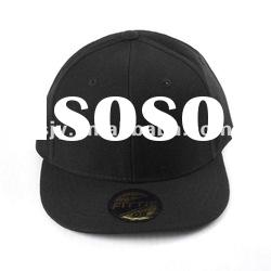 6 panel snap back baseball cap with embroidery