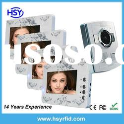 7 Inch color access control handfree video door phone