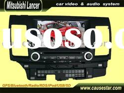 "8"" Special Car dvd player for mitsubishi lancer with GPS/Bluetooth/TV/Radio/Ipod/USB/SD"