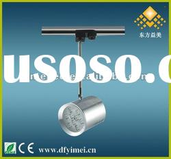 9W high power LED track light with high performance chip of cree