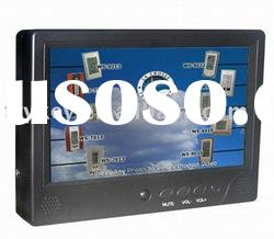 """9"""" Advertising display with touch screen,Advertisement display,Digital advertising display"""