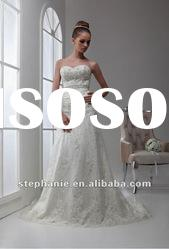 A6326 Guangzhou Stephanie Full Lace Overlay Sweetheart Lace Mermaid Wedding Dress