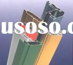 ALUMINUM profiles, powdercoating or anodizing colors for windows and doors