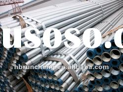 ASTM A106/A53 Hot Dip Galvanized steel pipe
