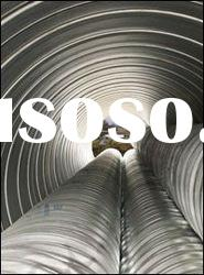 ASTM Corrugated galvanized Steel Pipe