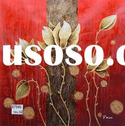 Abstract golden canvas oil painting,wholesale price