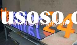Acrylic LED channel letter light for decoration
