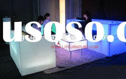 Acrylic commercial sofa/commercial furniture/led modern sofa