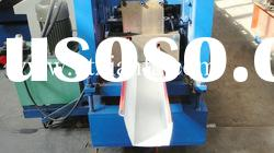 Aluminium Roofing Profile Gutter Roll Forming Machine