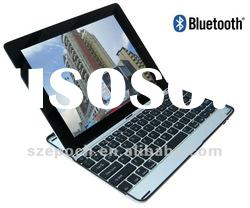 Aluminum alloy case with Bluetooth keyboard for Ipad