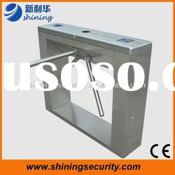 Automatic Access Control System Waist High Tripod Turnstile