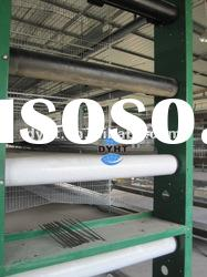 Automatic poultry farming cage-manure removal system