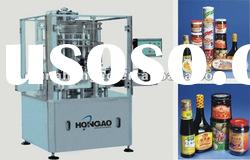 Automatic sauce yogurt tomato paste washing filling sealing capping machine