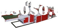 BXD-S-Q Fully Automatic Two-Line T-shirt Bag Machinery