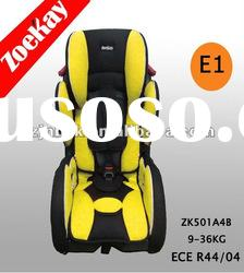 Baby car seat with ECE certificate