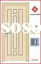 Beautiful Wooden door design, PVC door, MDF door (HB-8263)