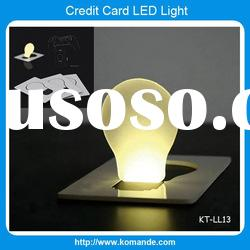 Bulb Credit Card LED Light for gift